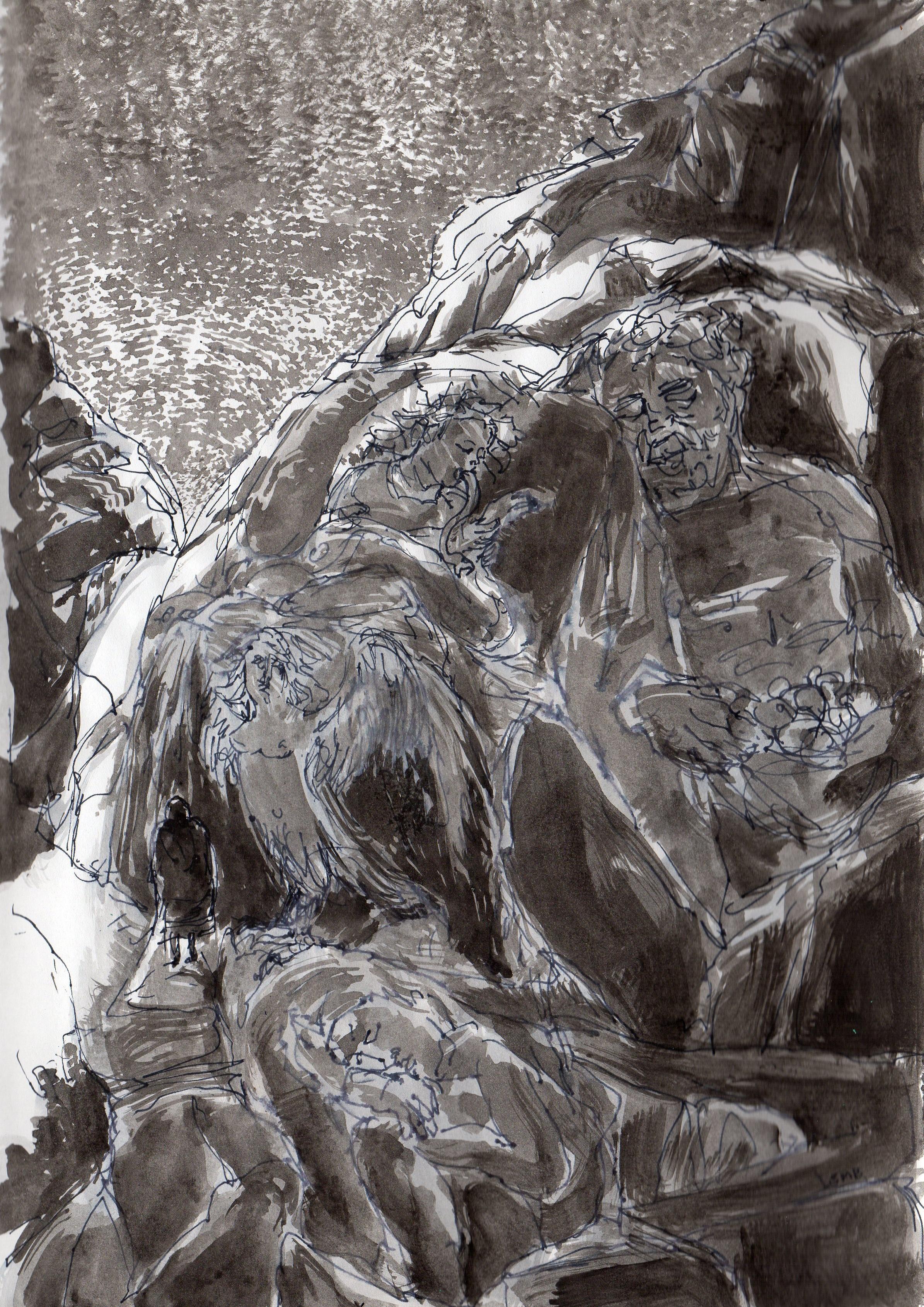 Enfer, La Divine Comédie, Chant 1.