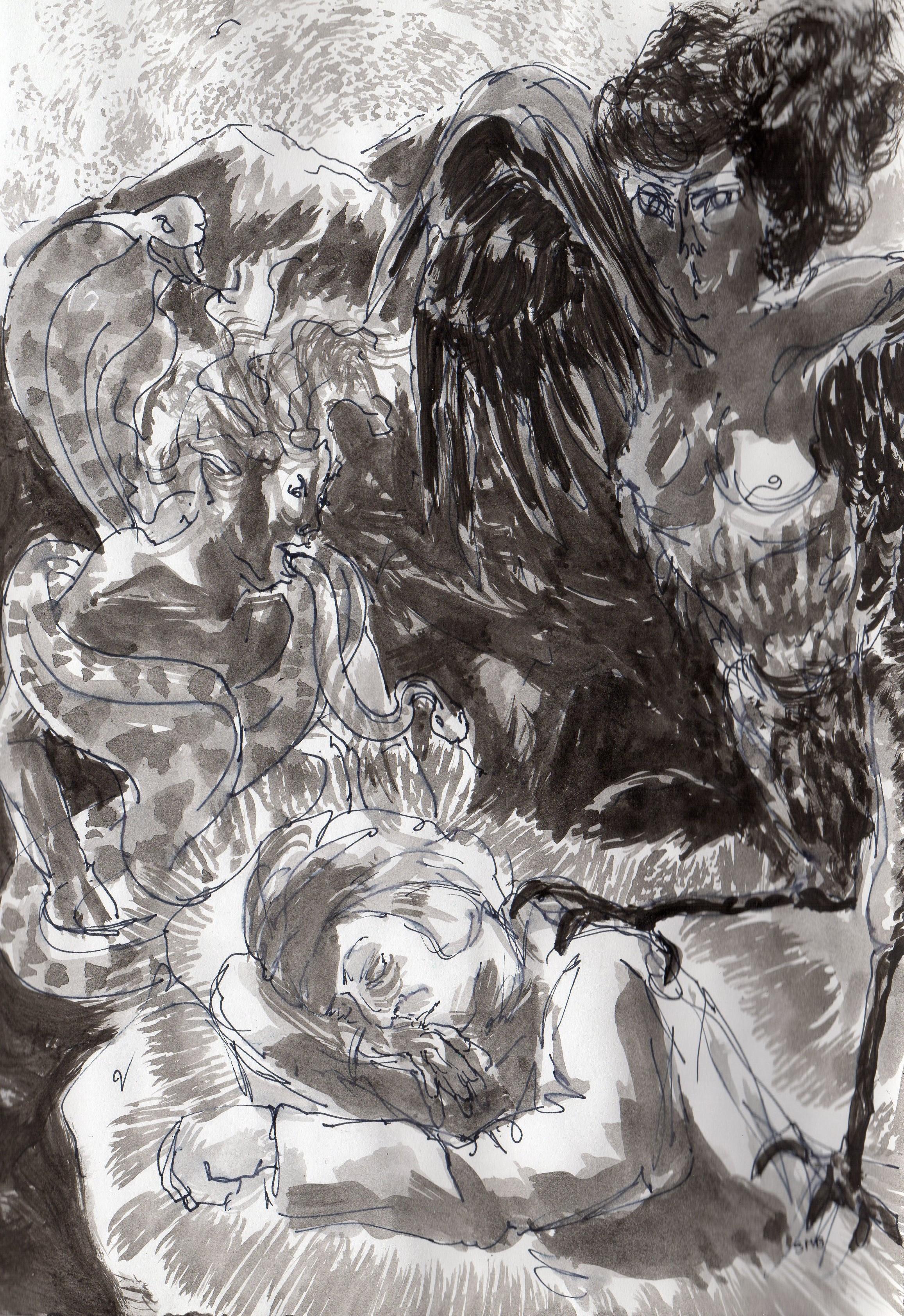 Enfer, La Divine Comédie, Dante. Chant 1