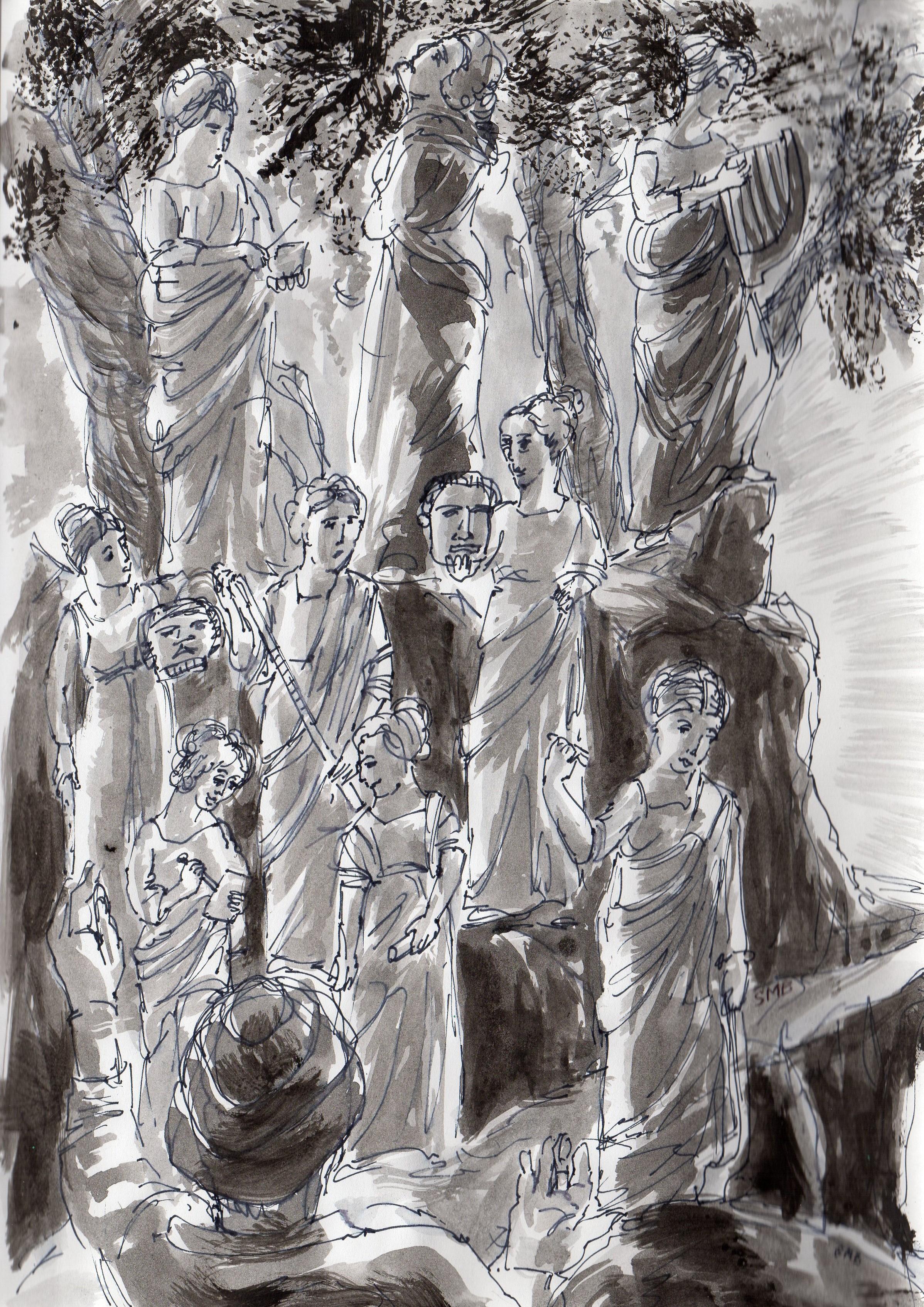 Enfer, La Divine Comédie, Dante. chant 2