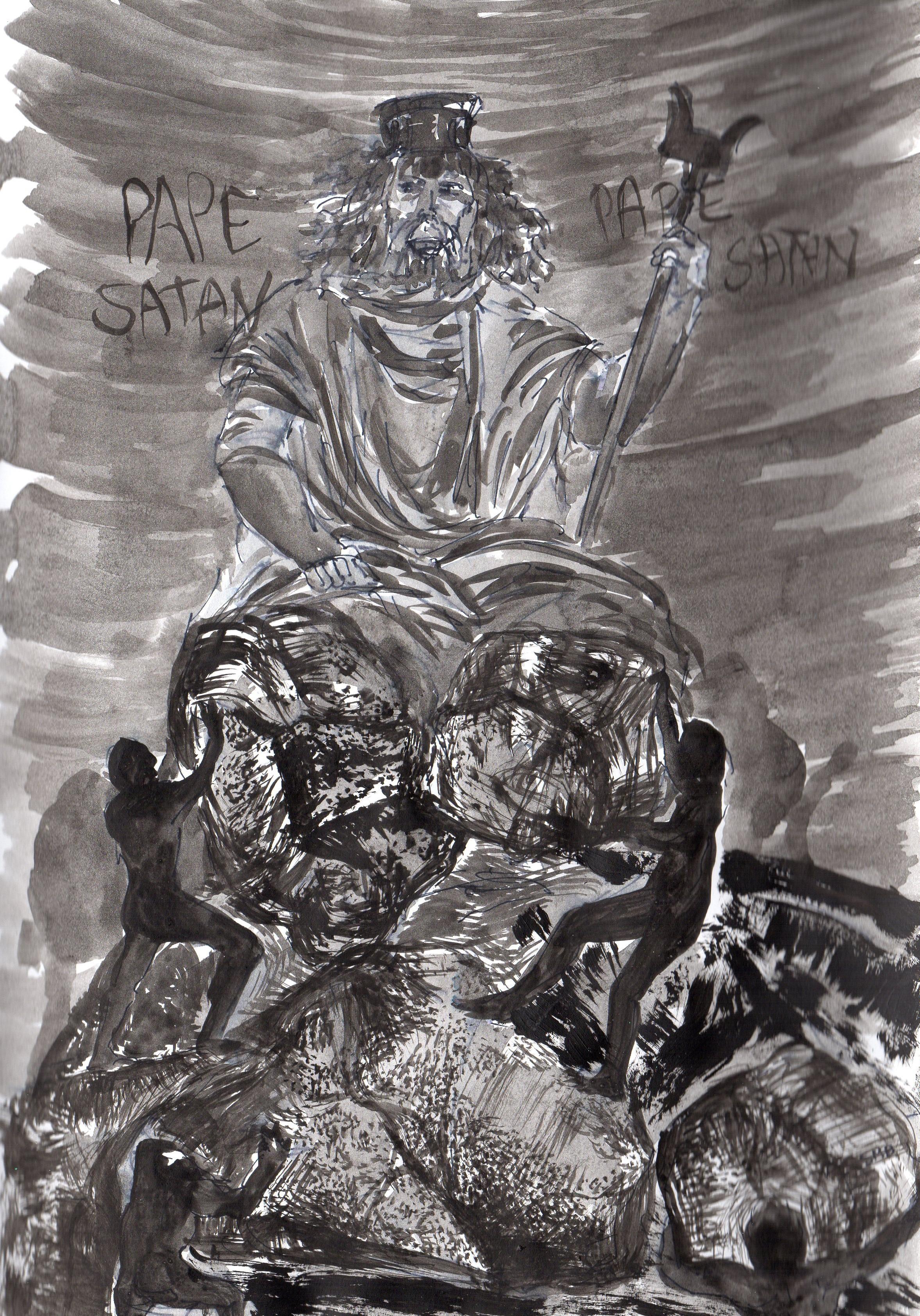 Enfer, La Divine Comédie, Dante. Chant 7