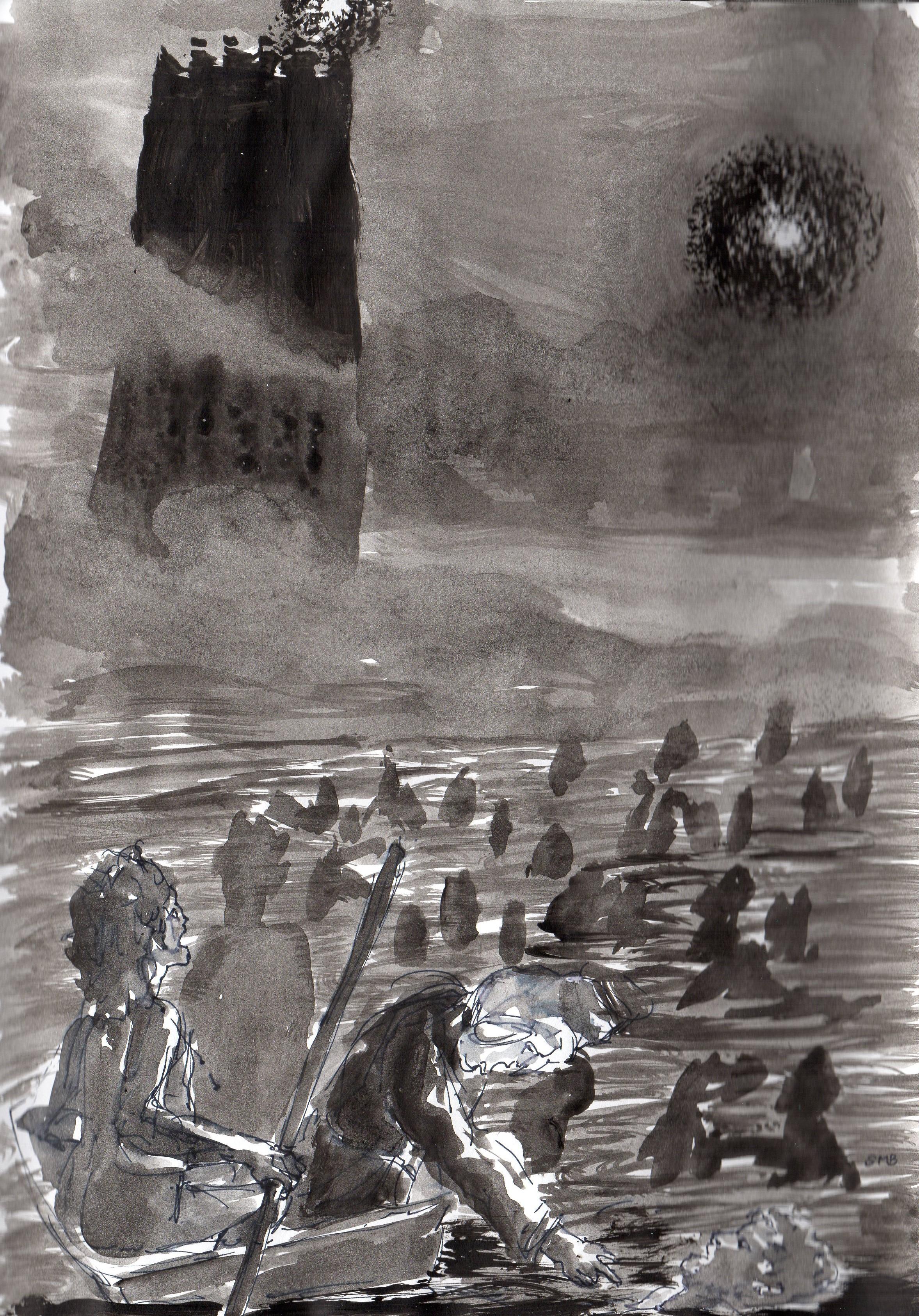 Enfer, La Divine Comédie, Dante. Chant 8