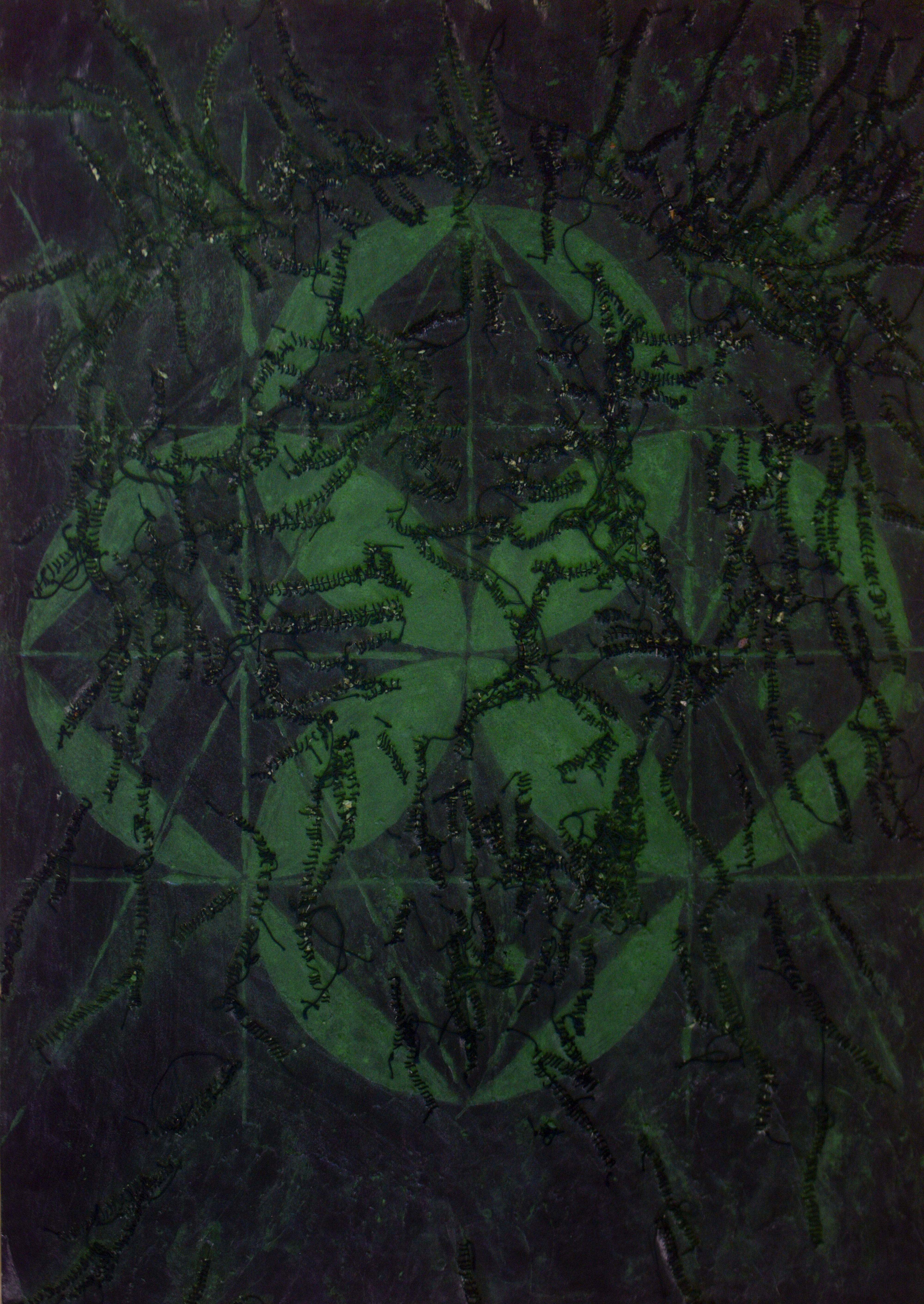 D'après un dessin de Giordano Bruno
